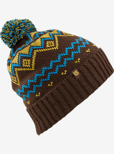Burton Mountain Man Beanie shown in Mocha