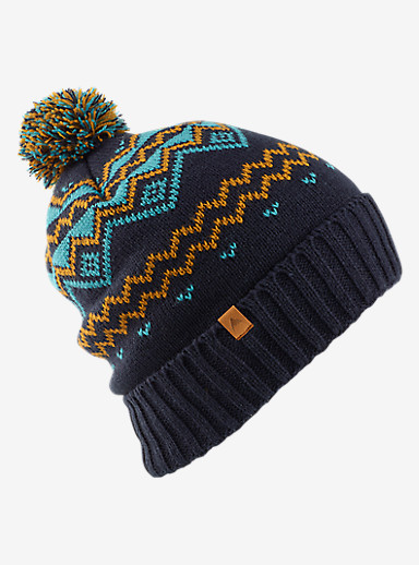 Burton Mountain Man Beanie shown in Eclipse