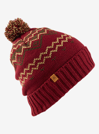 Burton Mountain Man Beanie shown in Wino