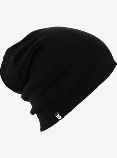 Burton Crush Beanie - Reversible shown in True Black