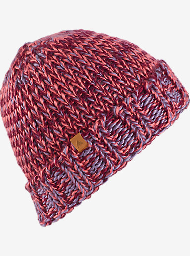 Burton Saltnpepper Beanie shown in Sashimi / Sangria / Space Dust