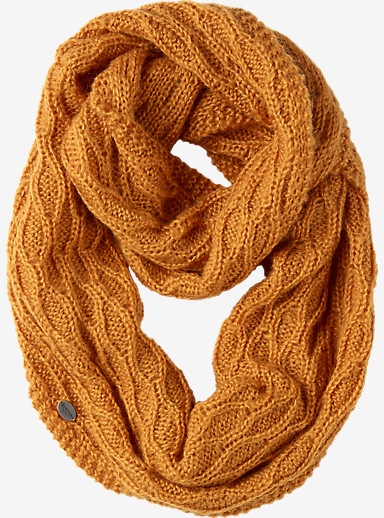 Burton Honeycomb Infinity Scarf shown in Squashed
