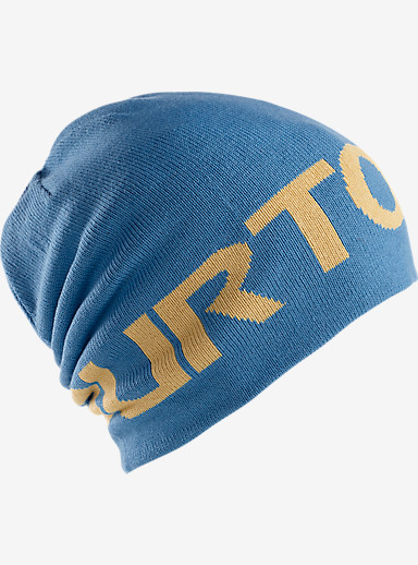 Burton Billboard Beanie shown in Glacier Blue / Nomad