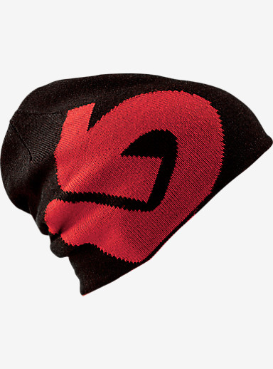 Burton Billboard Beanie - Reversible shown in Process Red / True Black