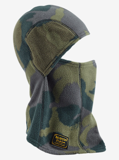 Burton Ember Fleece Clava shown in Beetle Derby Camo