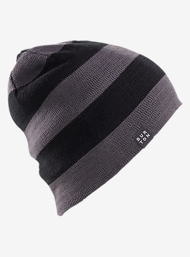 Burton Silverman Beanie shown in Faded / True Black