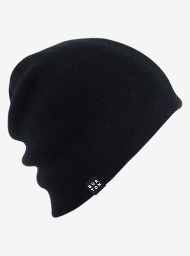 Burton Silverman Beanie - Reversible shown in True Black