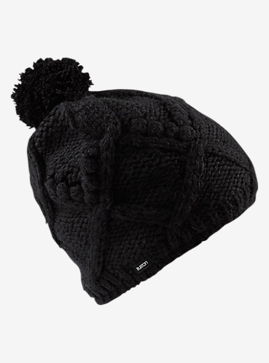 Burton Chloe Beanie shown in True Black