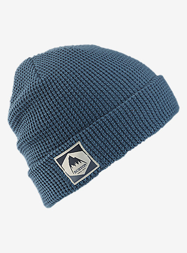 Burton Waffle Beanie shown in Washed Blue