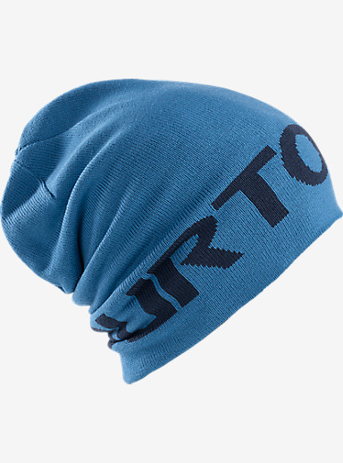 Burton Billboard Slouch Beanie shown in Blue Steel / Boro