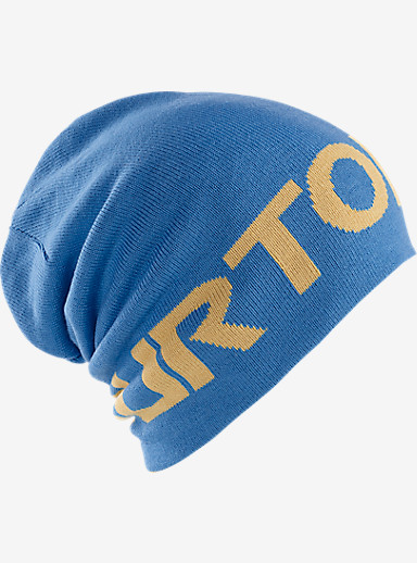 Burton Billboard Slouch Beanie shown in Glacier Blue / Nomad