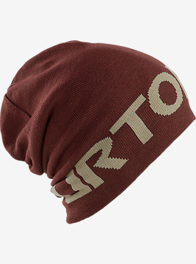 Burton Billboard Slouch Beanie shown in Tawny / Grayeen