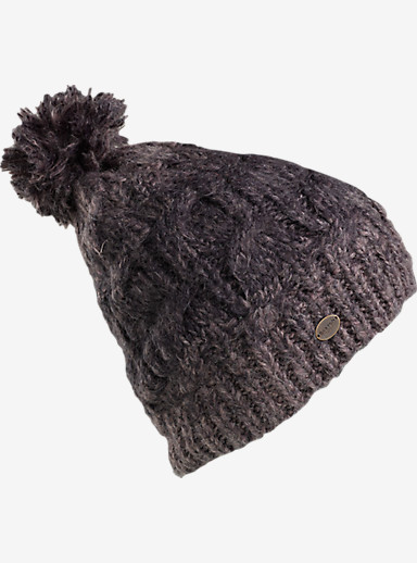Burton Stellar Beanie shown in True Black / Heathers