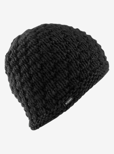 Burton Big Bertha Beanie shown in True Black