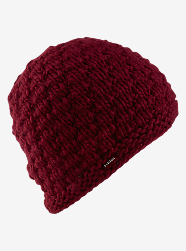 Burton Big Bertha Beanie shown in Sangria