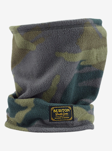 Burton Ember Fleece Neck Warmer shown in Beetle Derby Camo