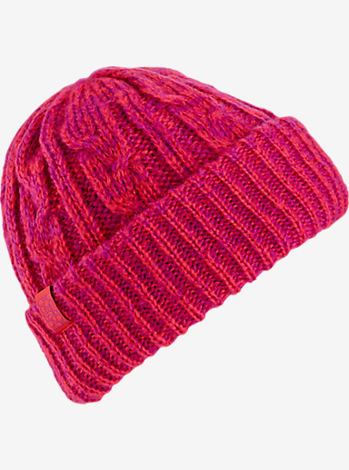Burton Bone Cobra Beanie shown in Tropic / Grapeseed