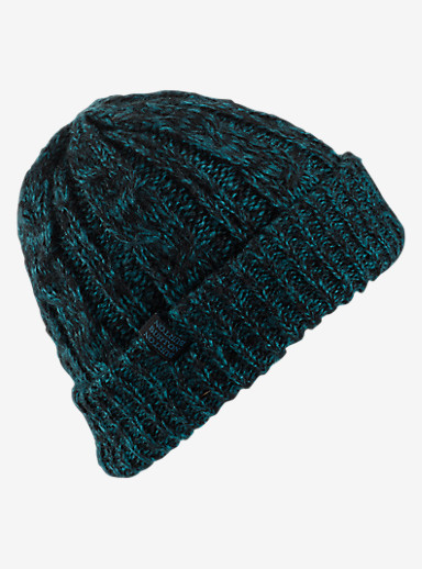Burton Bone Cobra Beanie - Reversible shown in Jaded / True Black