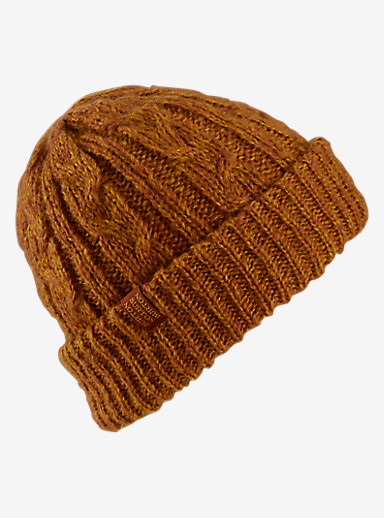 Burton Bone Cobra Beanie - Reversible shown in Sqaushed / Picante