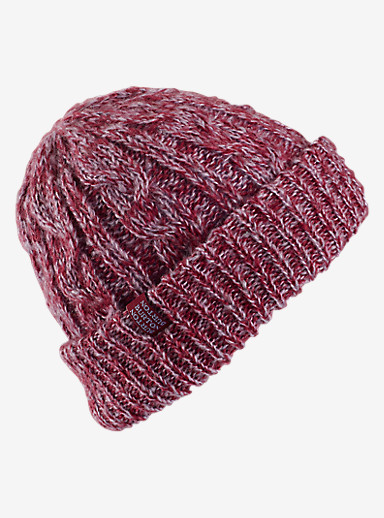 Burton Bone Cobra Beanie - Reversible shown in Sangria / Space Dust