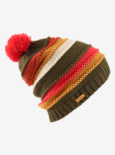 Burton Candystripe Beanie shown in Keef