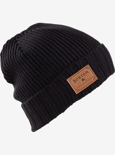 Burton Gringo Beanie shown in True Black