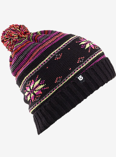 Burton Talini Beanie shown in True Black