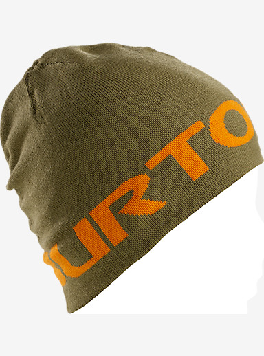 Burton Boys' Billboard Beanie shown in Algae / Safety