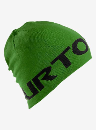 Burton Boys' Billboard Beanie - Reversible shown in Slime / True Black