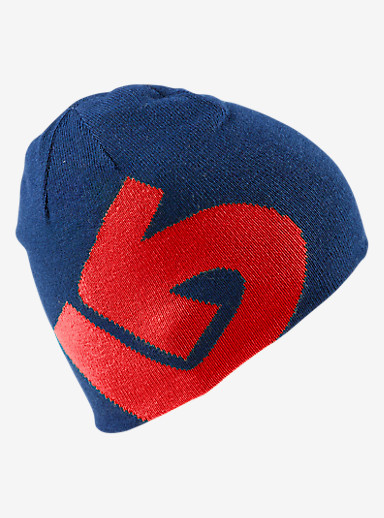 Burton Boys' Billboard Beanie - Reversible shown in Process Red / Boro