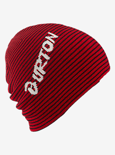 Burton Boys' Marquee Beanie - Reversible shown in Process Red / True Black