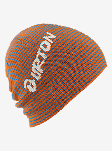 Burton Boys' Marquee Beanie - Reversible shown in Maui Sunset / Glacier Blue