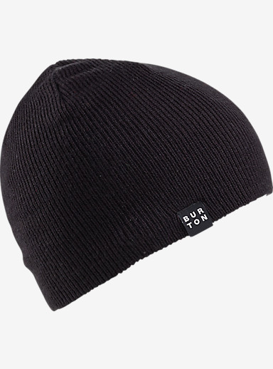 Burton Boys' All Day Long Beanie shown in True Black