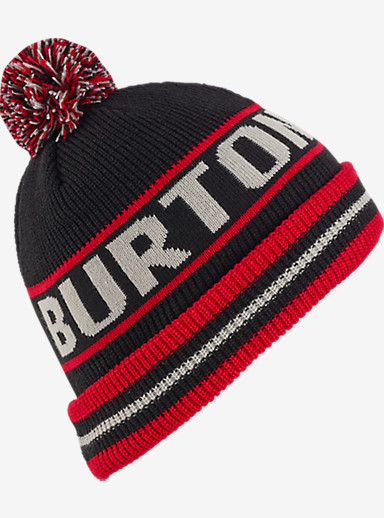 Burton Boys' Trope Beanie shown in Process Red