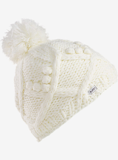 Burton Girls' Chloe Beanie shown in Stout White