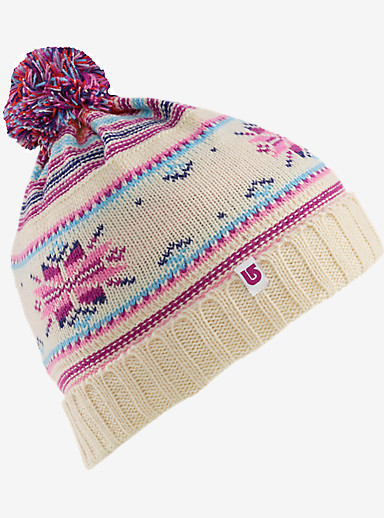 Burton Girls' Talini Beanie shown in Stout White