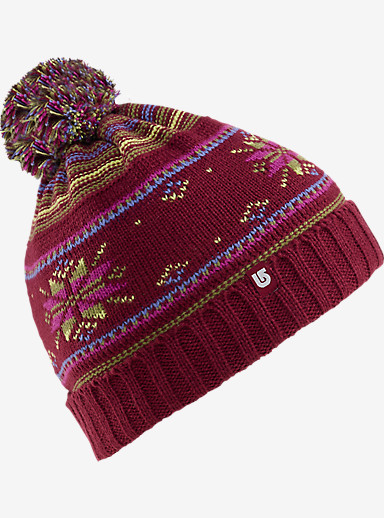 Burton Girls' Talini Beanie shown in Sangria