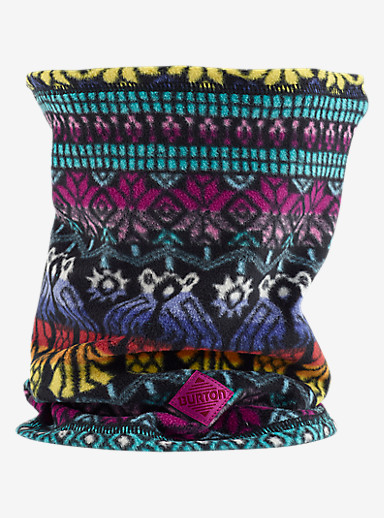 Burton Kids' Neck Warmer shown in Figaro Stripe