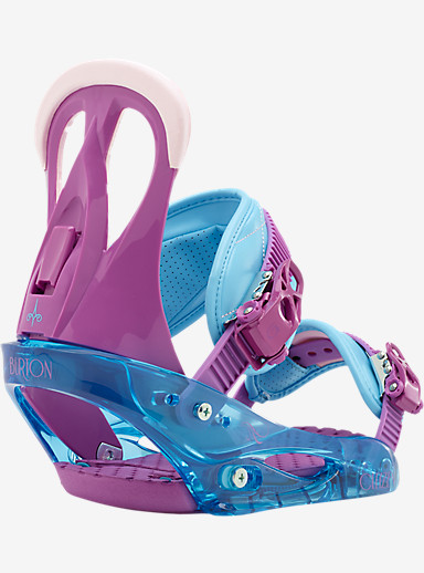 Burton Citizen Snowboard Binding shown in Nurple