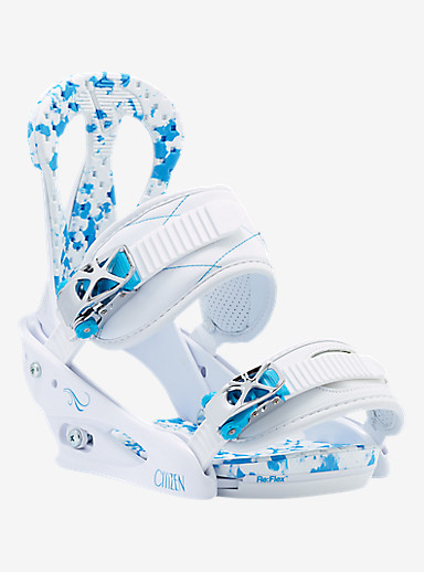 Burton Citizen Snowboard Binding shown in White / Blue