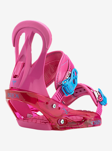 Burton Citizen Snowboard Binding shown in So Pink
