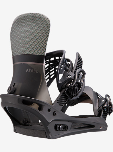 Burton Diode Snowboard Binding shown in Black