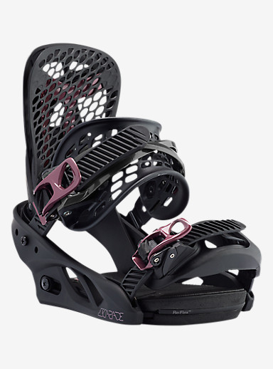 Burton Escapade Snowboard Binding shown in Black