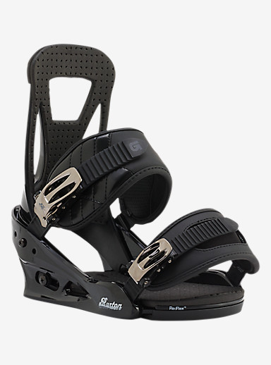 Burton Freestyle Snowboard Binding shown in Black