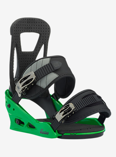 Burton Freestyle Snowboard Binding shown in Green