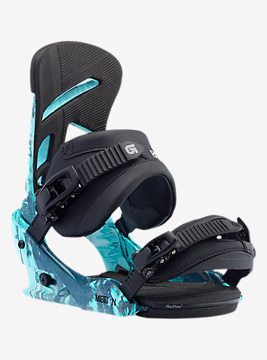Burton Mission Snowboard Binding shown in Blueprint