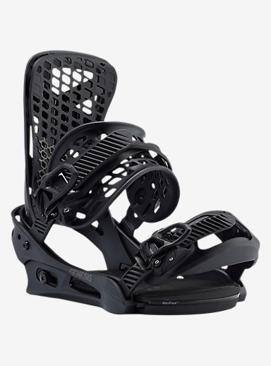 Burton Genesis Snowboard Binding shown in Black