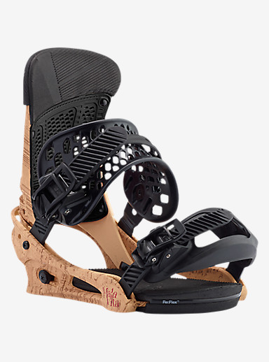 Burton Malavita Snowboard Binding shown in Double Cork