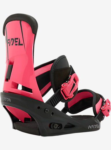 Burton Infidel Snowboard Binding shown in Sensitive Punk
