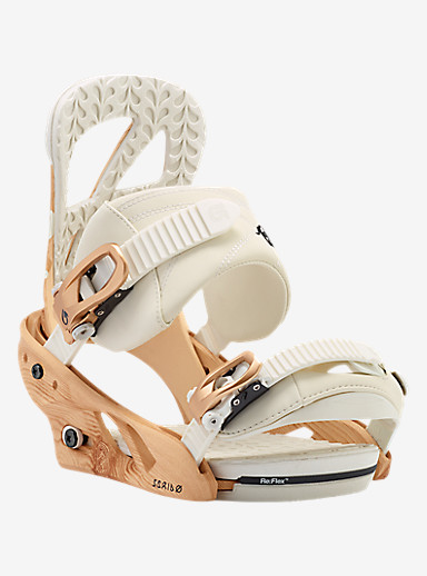 Burton Scribe Snowboard Binding shown in Timber